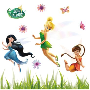 Sticker per vetri per bambini - Disney Fairies