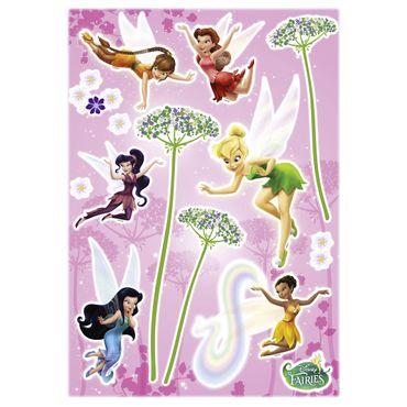 Adesivo murale per bambini - Disney Fairies