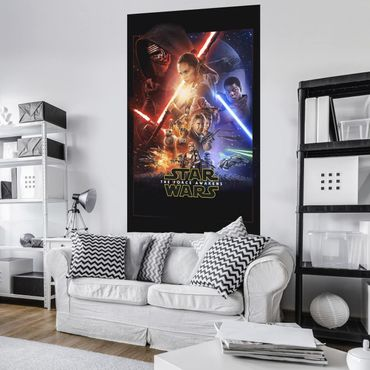 Carta da parati - Star Wars EP7 Official Movie Poster