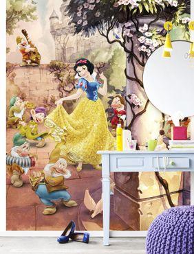 Carta da parati - Disney Biancaneve danzante