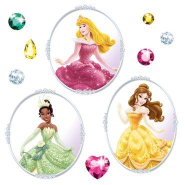 Sticker per vetri per bambini - Principesse Disney