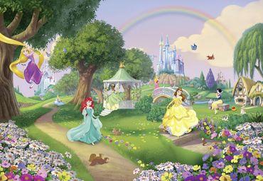 Carta da parati - Principesse Disney - Arcobaleno