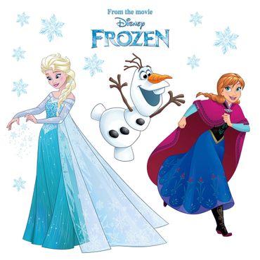 Sticker per vetri per bambini - Frozen fiocco di neve