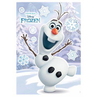 Adesivo murale per bambini - Frozen il regno di ghiaccio: Olaf