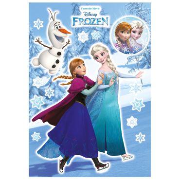 Adesivo murale per bambini - Frozen sorelle