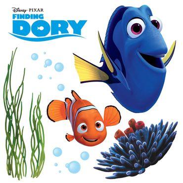 Sticker per vetri per bambini - Alla ricerca di Dory
