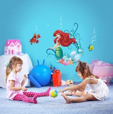 Adesivo murale per bambini - La Sirenetta Ariel