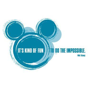 Adesivo murale per bambini - Walt Disney: it's kind of fun