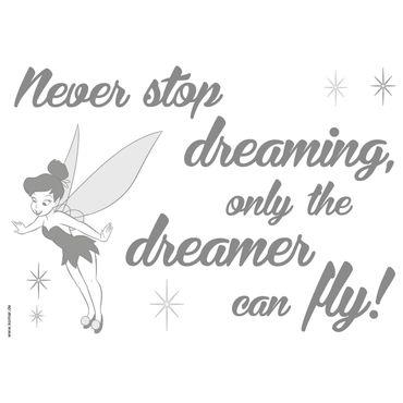 Adesivo murale per bambini - Disney: never stop dreaming