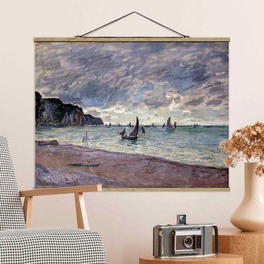 Foto su tessuto da parete con bastone - Claude Monet - Costa di Pourville - Orizzontale 3:4