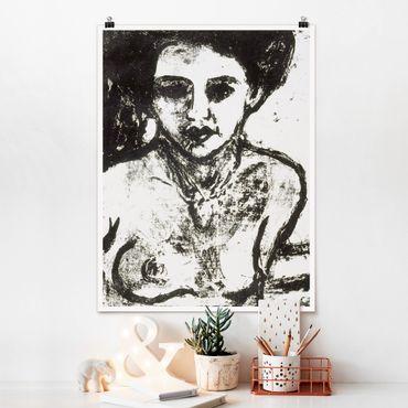Poster - Ernst Ludwig Kirchner - Artisti Bambino - Verticale 4:3