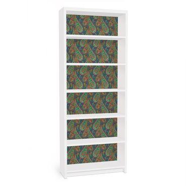 Carta adesiva per mobili IKEA - Billy Libreria - Filigree Paisley Design