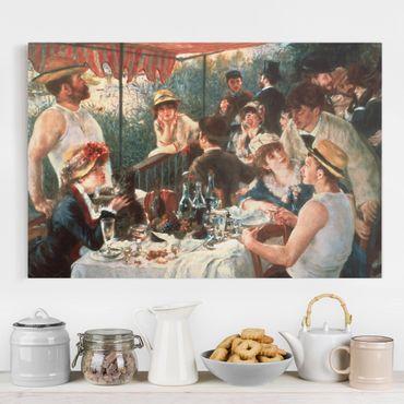 Quadri su tela - Auguste Renoir - La colazione dei Canottieri