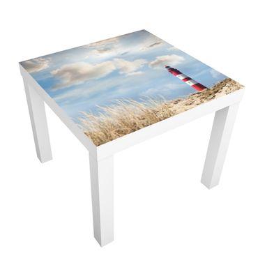 Carta adesiva per mobili IKEA - Lack Tavolino Lighthouse in the dunes