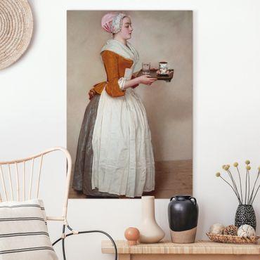 Quadri su tela - Jean Etienne Liotard - La ragazza del cioccolato
