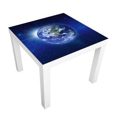 Carta adesiva per mobili IKEA - Lack Tavolino earth in space