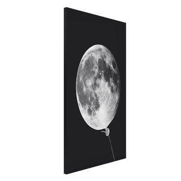 Lavagna magnetica - Balloon Con La Luna - Formato verticale 4:3