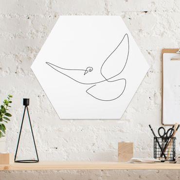 Esagono in forex - Dove Line Art