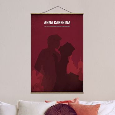 Foto su tessuto da parete con bastone - Poster del film Anna Karenina - Verticale 3:2