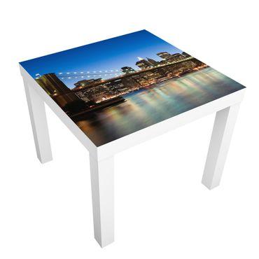 Carta adesiva per mobili IKEA - Lack Tavolino Brooklyn Bridge in New York
