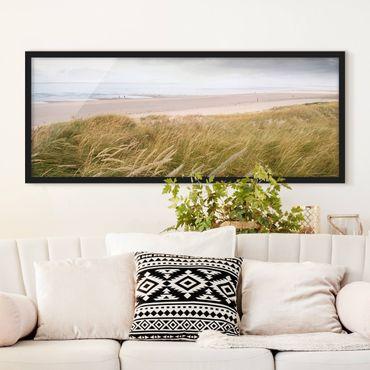 Poster con cornice - Dune Sogno - Panorama formato orizzontale