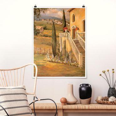 Poster - Campagna italiana - Porch - Verticale 4:3