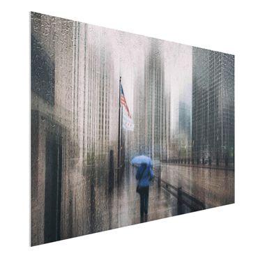 Quadro in forex - Rainy Chicago - Orizzontale 3:2