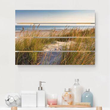 Stampa su legno - Beach Dune Al Mare - Orizzontale 2:3