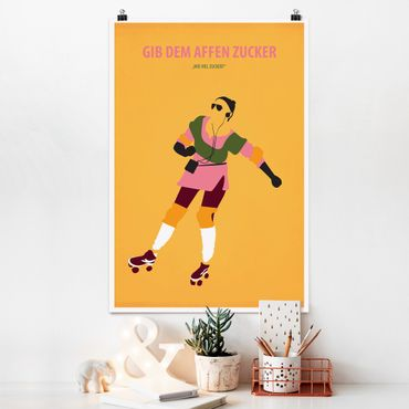 Poster - Poster di film Dare Le Scimmie Zucchero - Verticale 3:2