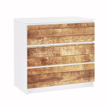 Carta adesiva per mobili IKEA - Malm Cassettiera 3xCassetti - Nordic Wood Wall