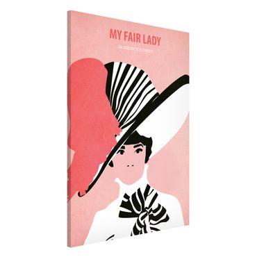 Lavagna magnetica - Poster del film My Fair Lady - Formato verticale 2:3