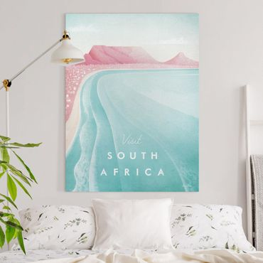Stampa su tela - Poster Travel - Sud Africa - Verticale 4:3