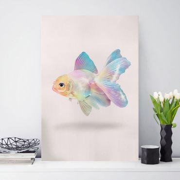 Stampa su tela - Pesce In Pastel - Verticale 3:2