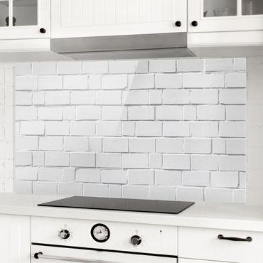 Paraschizzi in vetro - White Stone Wall
