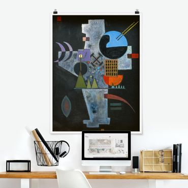 Poster - Wassily Kandinsky - cruciforme - Verticale 4:3