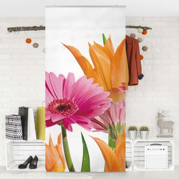 Tenda a pannello Flower Melody 250x120cm