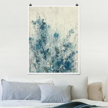 Poster - Blue Spring Meadow I - Verticale 4:3