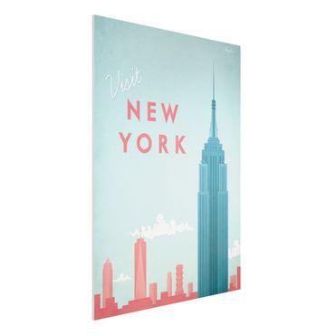 Stampa su Forex - Poster Viaggi - New York - Verticale 4:3