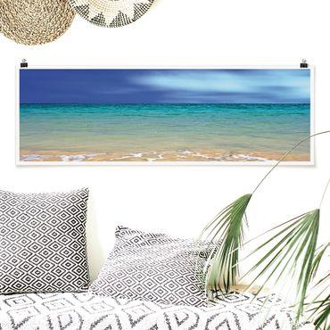 Poster - Oceano indiano - Panorama formato orizzontale
