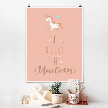 Poster - I Believe In Unicorn - Verticale 4:3