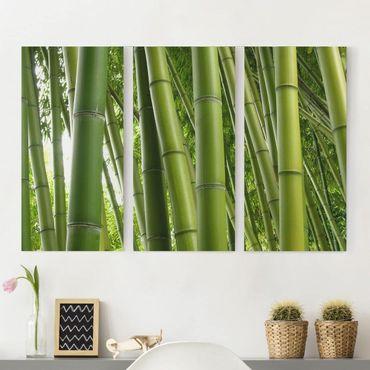 Stampa su tela 3 parti - Bamboo Trees - Verticale 2:1