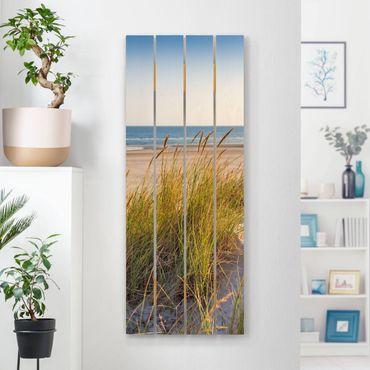 Stampa su legno - Beach Dune Al Mare - Verticale 5:2