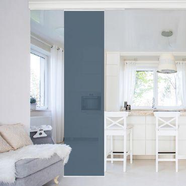 Tenda scorrevole set - Slate Blue