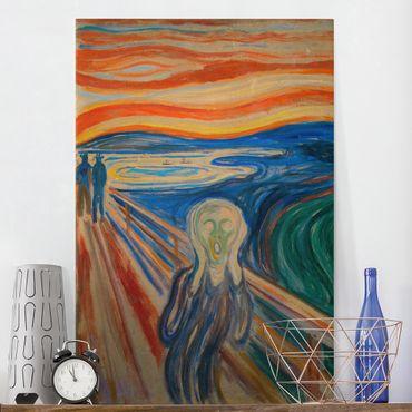 Quadri su tela - Edvard Munch - L'urlo