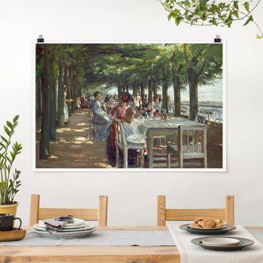 Poster - Max Liebermann - The Terrace Restaurant Jacob - Orizzontale 2:3