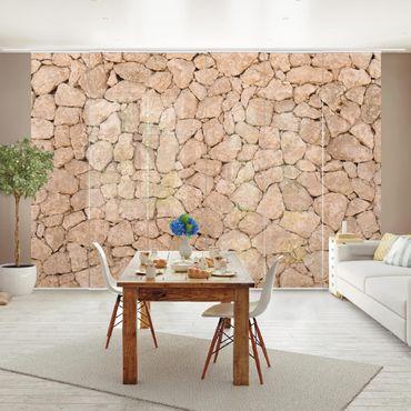 Tende scorrevoli set - Apulia Stonewall - Ancient Stone Wall Of Large Stones