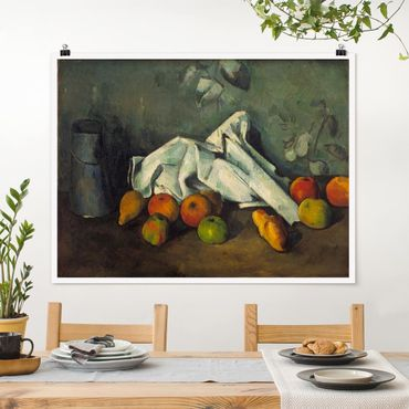 Poster - Paul Cézanne - Latte Can E Apple - Orizzontale 3:4