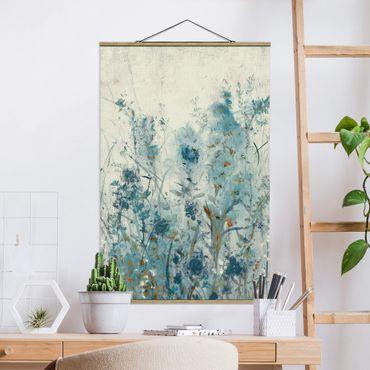 Foto su tessuto da parete con bastone - Blue Spring Meadow II - Verticale 3:2