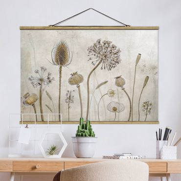 Foto su tessuto da parete con bastone - Growing Old - Orizzontale 2:3