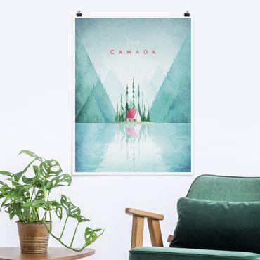 Poster - Poster di viaggio - Canada - Verticale 4:3